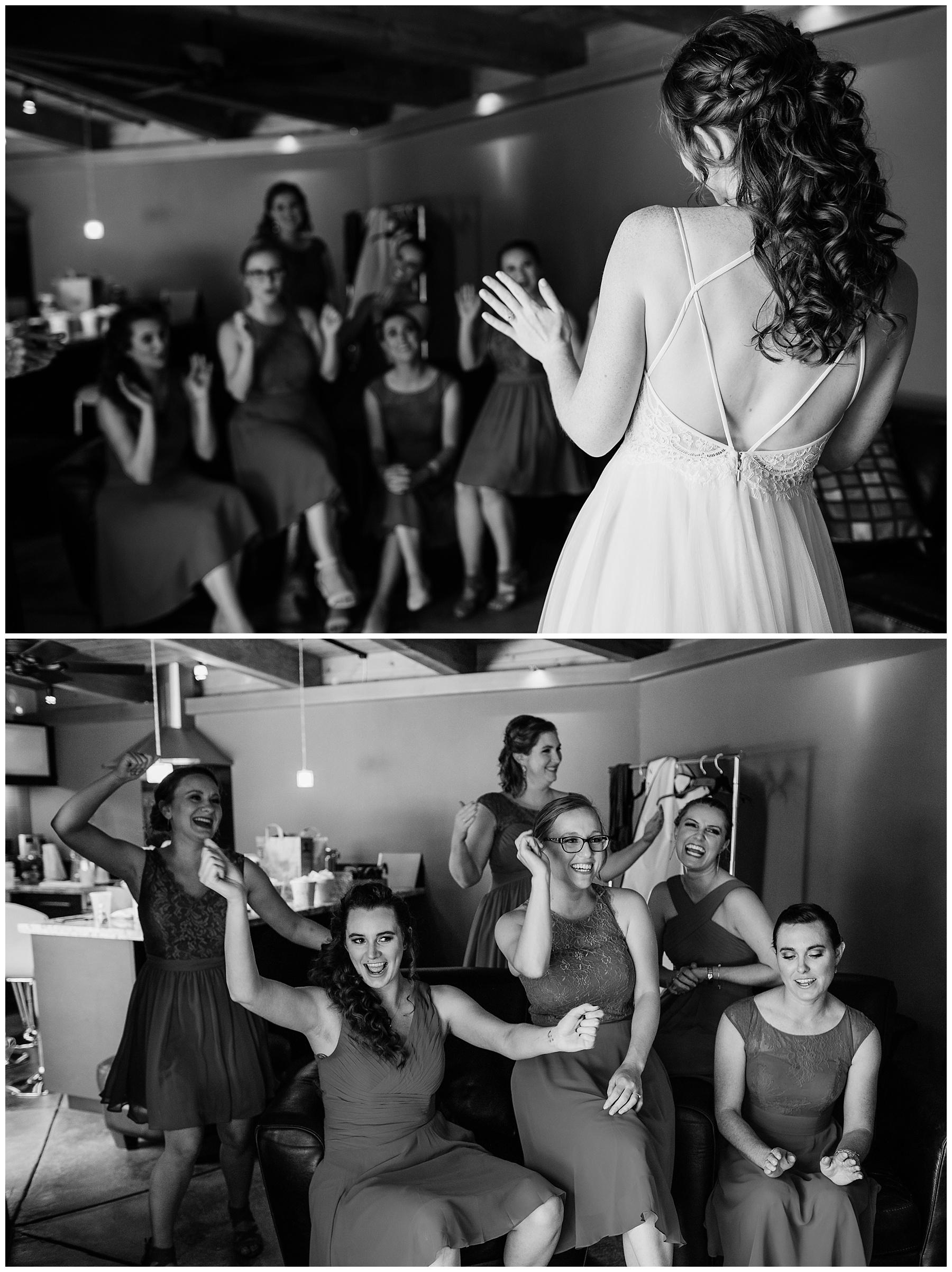 candid moment wedding