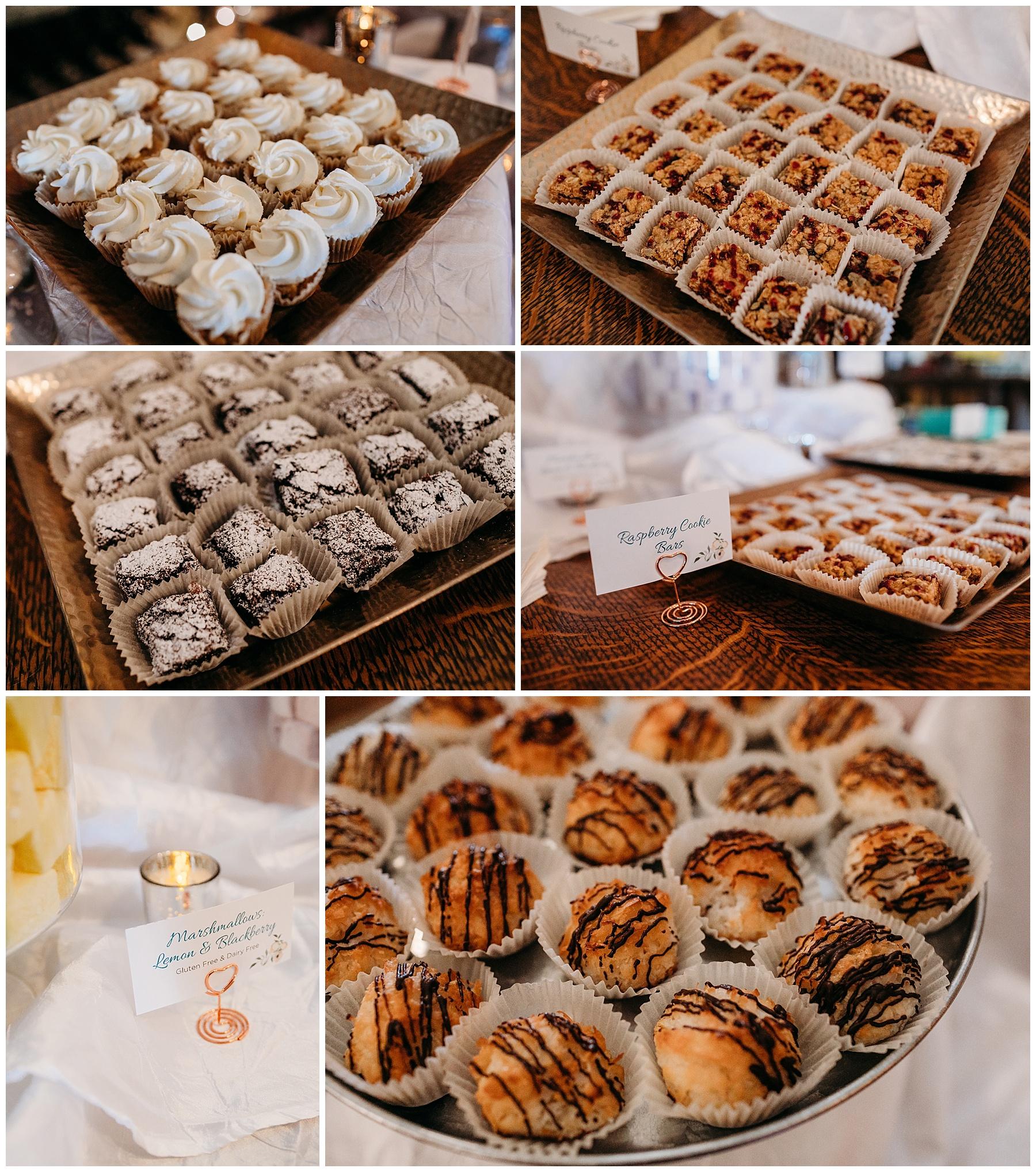 julietta winery dessert table